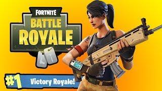 Fortnite Battle Royale Blitzwinger bekommt seinen 3. Solo-Sieg!