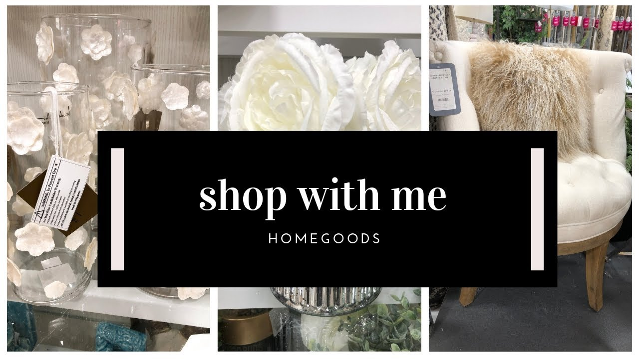 HOMEGOODS SHOP WITH ME FOR CLASSY HOME DECOR