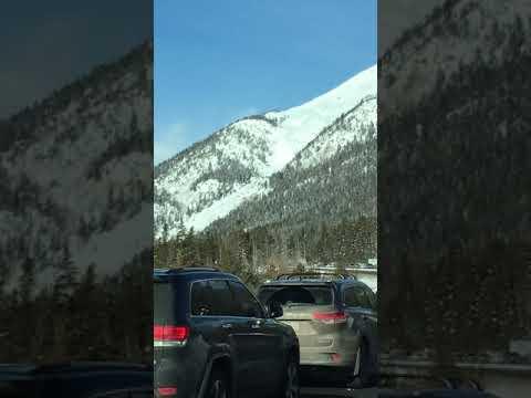 Avalanche at I-70