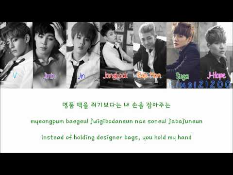 BTS (방탄소년단) - Miss Right [Hangul/Romanization/English] Color & Picture Coded HD