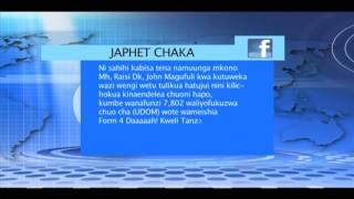 Channel Ten Online :Serikali Kuamuru wanafunzi wa UDOM- 060616