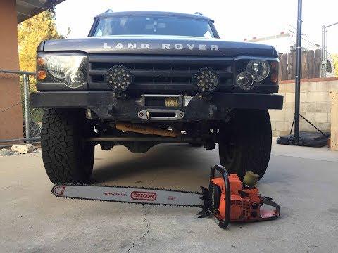 Land Rover Discovery vs. Orange Tree