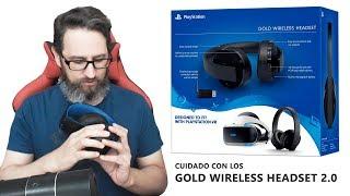 Cuidado con los Gold Wireless Headset 2.0