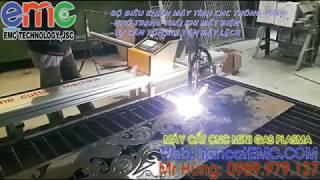 Máy Cắt Hoa Văn, Cửa Cổng, Sắt Mỹ Thuật CNC Mini Plasma