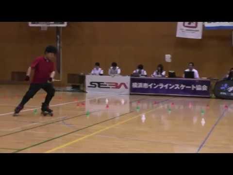Tanaka Hakuto.All Japan Freestyle Skateing Championship Kanto.