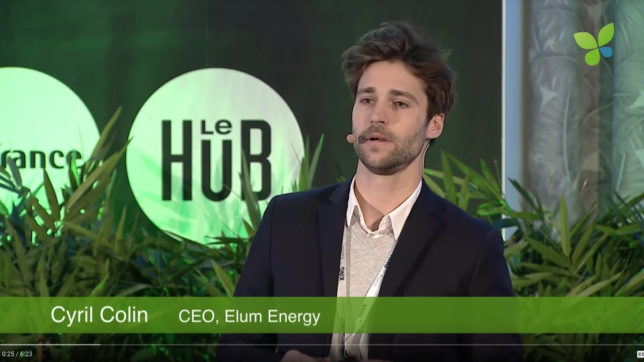 ECO18 Paris: Cyril Colin Elum Energy