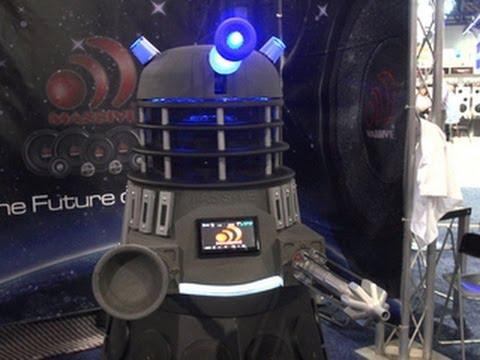 Dalek Bluetooth Speaker Is World S Loudest Youtube