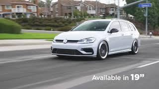 So Fresh, So Clean: VW Golf Wagon 19x8.5