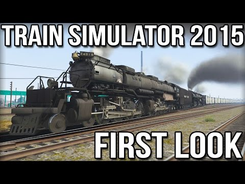 Train Simulator 2015 - First Look - Union Pacific Big Boy