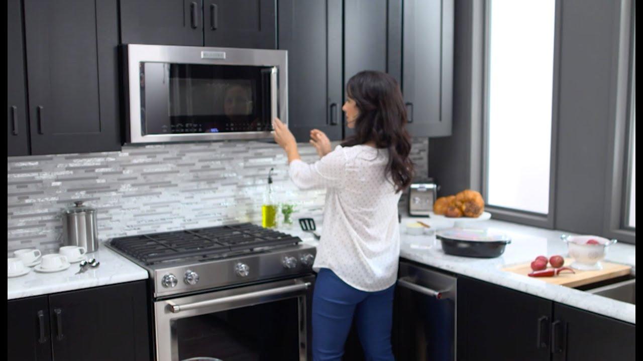 kitchenaid microwave hood combinations