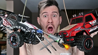 MOST DANGEROUS TOY OF ALL TIME!! *RC CAR EDITION / FLAMETHROWER*