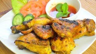 How To Make Thai Bbq Chicken ไก่ย่างรสเด็ดจ้า (thai Food)