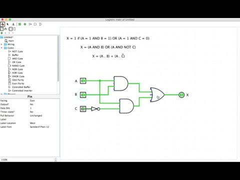 IGCSE Computer Science Tutorial: 1.3.1 (d) – Solving Problems with Logic Gates