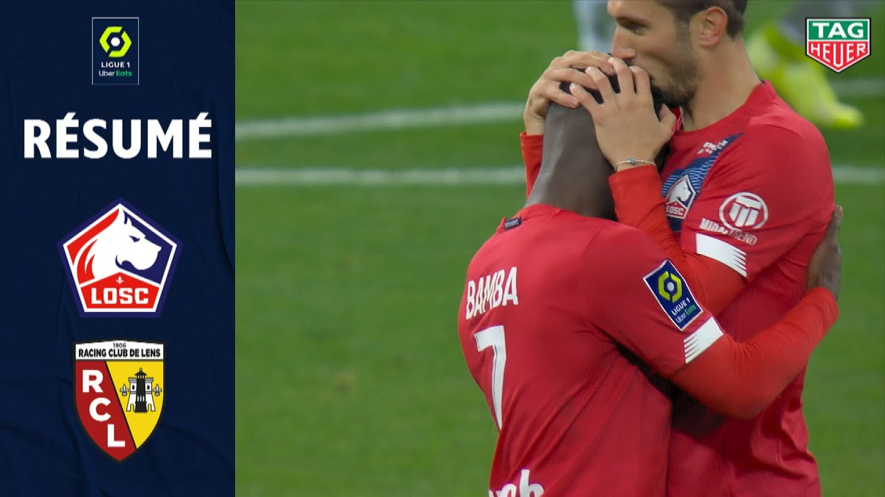 Losc Lille Rc Lens 4 0 Resume Losc Rcl 2020 2021 Youtube