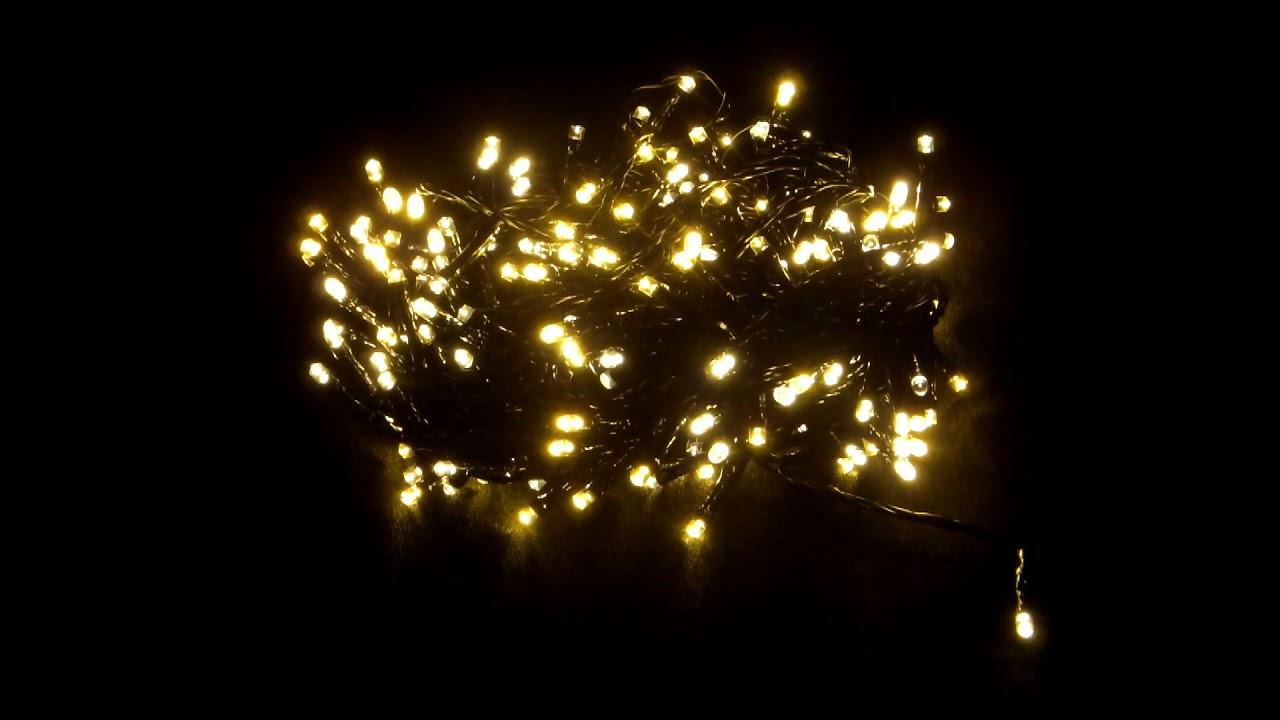 Led Lichterkette Funkeln.Lumineo Led Lichterkette Twinklelights Firefly Funkel 240 Led Warmweiss 50 Flickering Led Timer