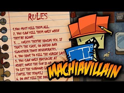 MachiaVillain - Building A Monster Murder House - Monsters vs Humans - MachiaVillain Gameplay Part 1