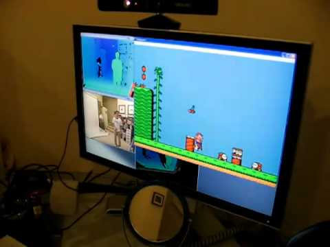 Super Mario Bros En Kinect Youtube