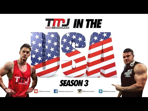 TMJ In The USA! Season 3 Day 13: ANC Virginia Store Visit   MassiveJoes.com Mr Olympia Tour 2015