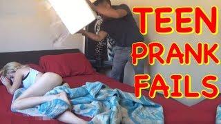 TEEN PRANK FAILS | Teen Pranks Compilation