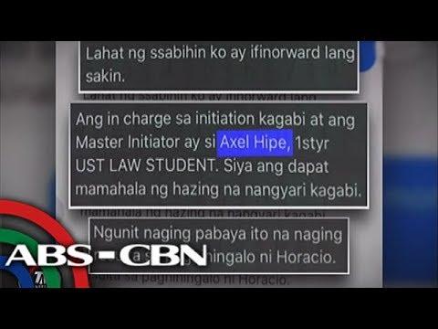 TV Patrol: Master of initiation, nagpabaya kaya nasawi ang law student