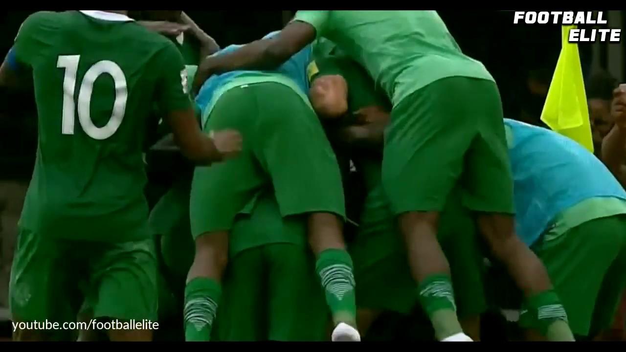 Нигерия - Камерун 4:0 видео