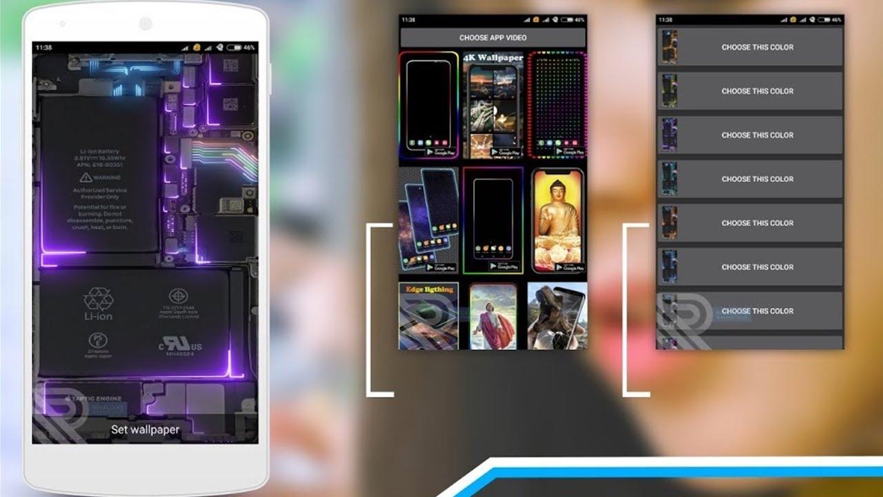 Coba Live Wallpaper Phone Electricity Keren Ban