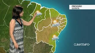 Previsão Nordeste – Risco de temporais no litoral do Maranhão
