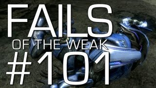 Fails of the Weak: Ep. 101 - Funny Halo 4 Bloopers and Screw Ups! | Rooster Teeth