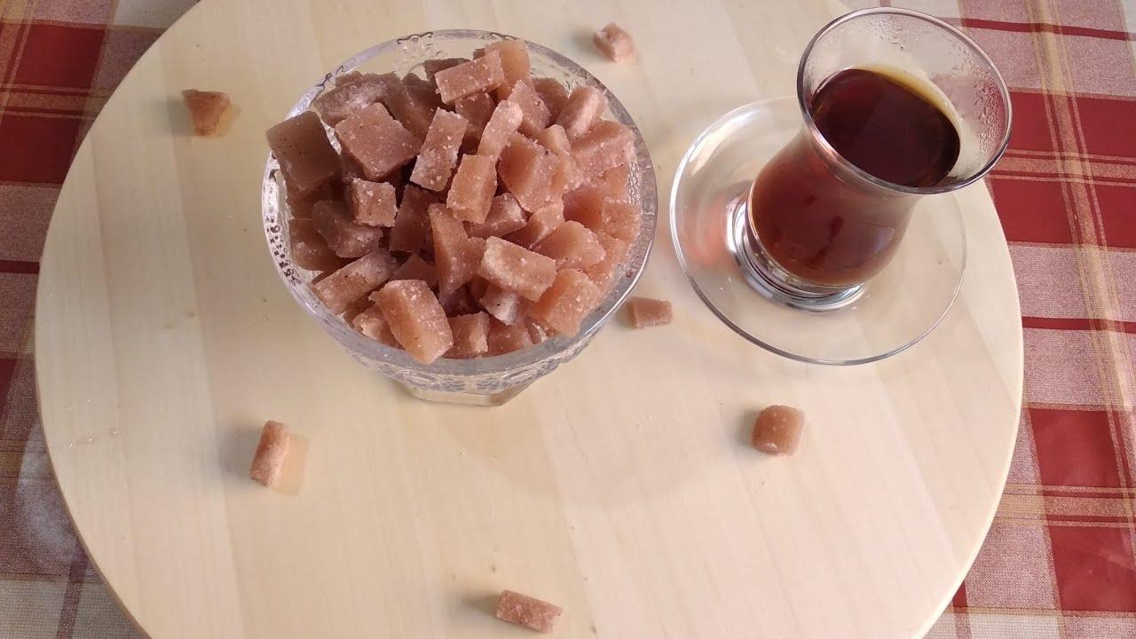 Qəndin hazırlanması / Приготовление кубиков сахара дома / Evde şeker