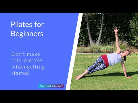 Pilates for Beginners Don't make this mistake when getting started
