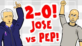 JOSE BEATS PEP! Spurs 2-0 Man City reaction!
