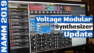 NAMM 2019 Voltage Modular Synthesizer V 1 2 3 New PSP Audioware Modules SYNTH ANATOMY