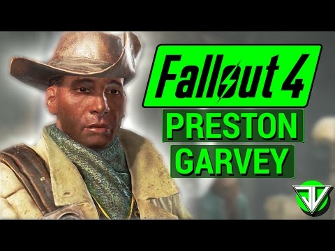 FALLOUT 4: Preston Garvey COMPANION Guide! (Everything You Need to Know About Preston Garvey)