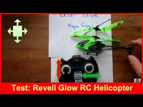 Test: Helicopter MAGIC GLOW Revell Control 23934 Review nach 4 Monaten
