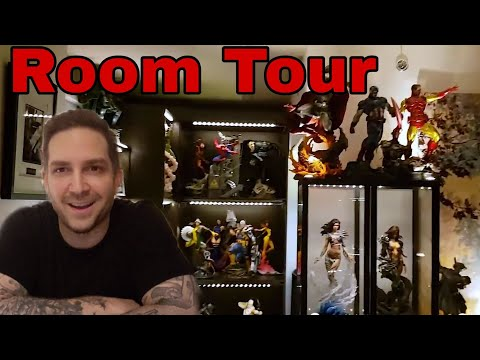 Man Cave - Room Tour From Jason (InstaJayH) #DCComics #Marvelcomics #Transformers