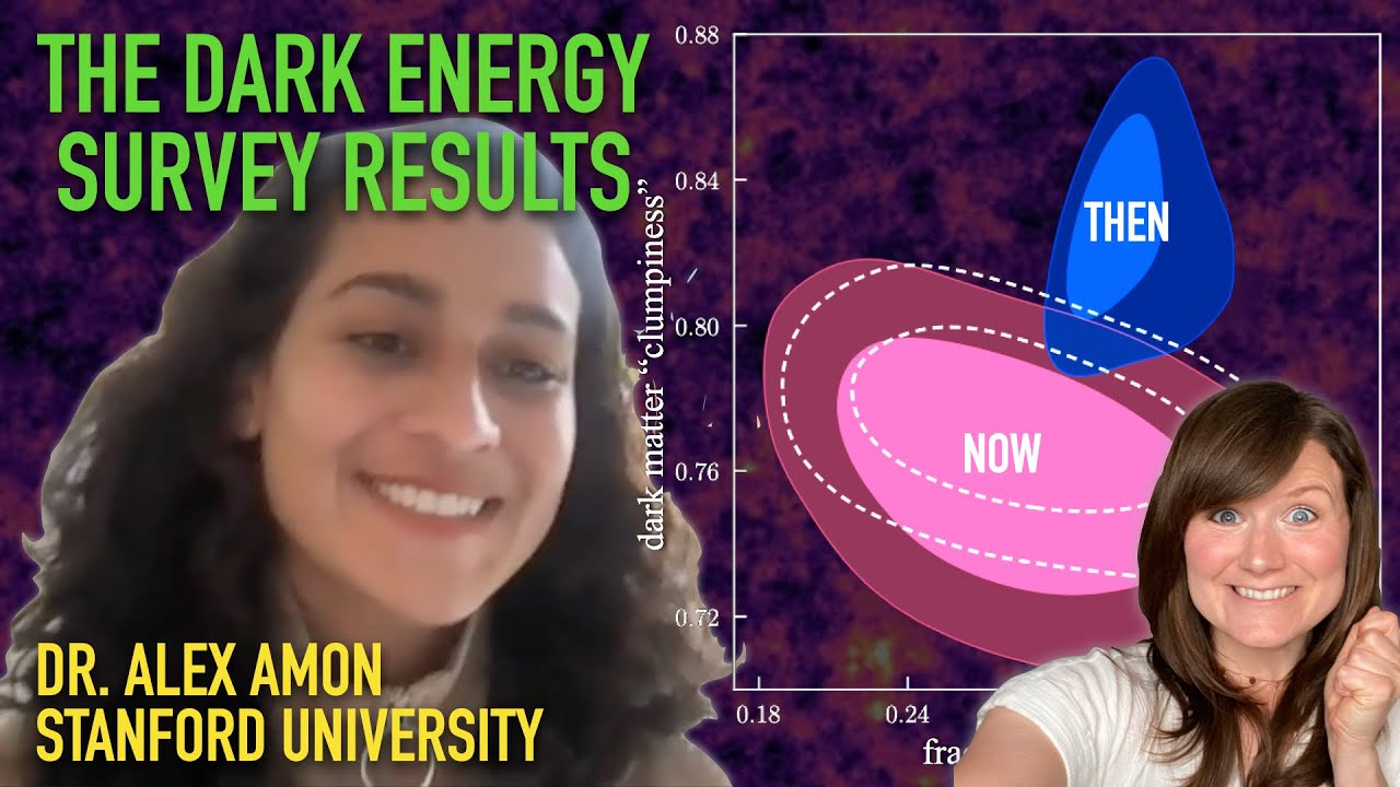 In conversation with Dr Alexandra Amon (Dark Energy Survey & Stanford University)