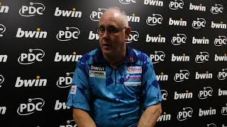 Grand Slam of Darts 2018 - Ian White happy with opening day victory