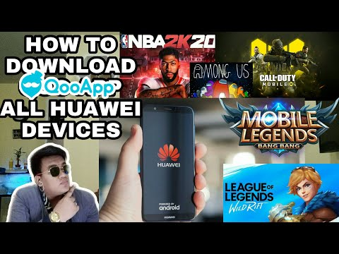 HOW TO DOWNLOAD - QOOAPP ALL HUAWEI DEVICES | TAGALOG TUTORIAL 2020 | VINVIN VLOGZ