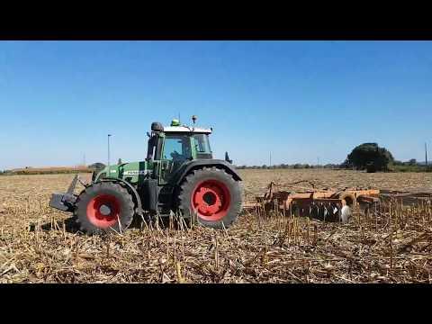 Incorporação dos resíduos do milho  Outubro 2017