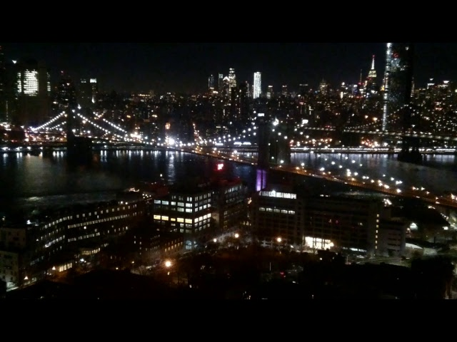 Brooklyn Bridge & Manhattan NYC Cam - St. George Tower