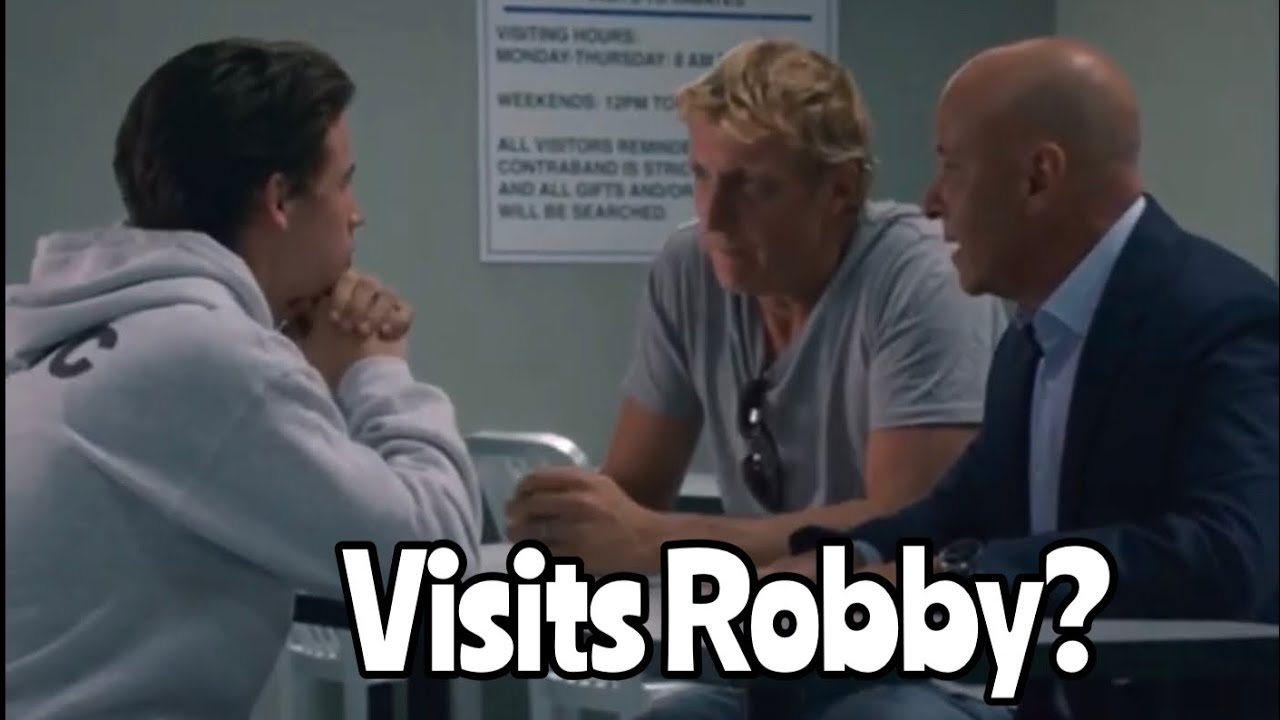 Download What if Johnny actually visited Robby in Juvie in Cobra Kai Season 3?