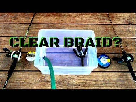 FLUOROCARBON COATED BRAID VS REGULAR BRAID | UNDERWATER TEST