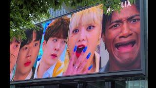 코엑스 전광판 지구망 광고 / (여자)아이들 민니