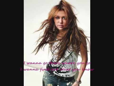 Miley Cyrus feat. David Archuleta-I Wanna Know You(lyrics)