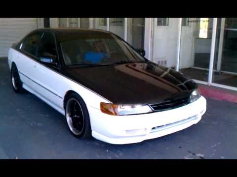 1995 Custom Honda Accord Lx Drive Around Youtube