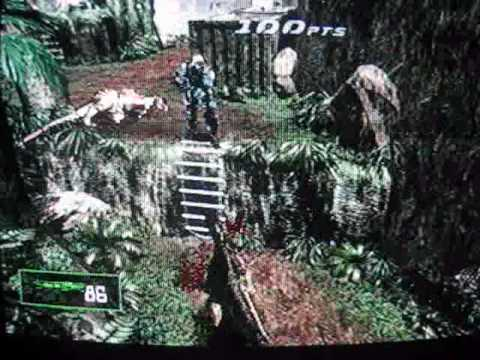 Dino Crisis 2(PS1) Gameplay 1