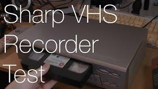 Sharp VC MH75HM VHS Player VCR | IMNC