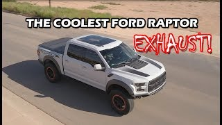we found the coolest ford raptor ecoboost exhaust system