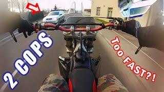 Dirtbike Police Getaway [2016] Honda CR125