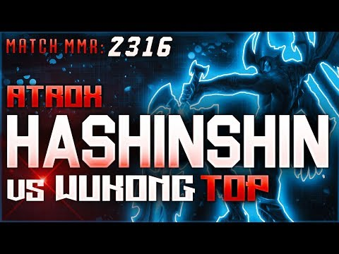 S8 | Hashinshin Atrox vs Wukong TOP | High Elo Ranked League of Legends